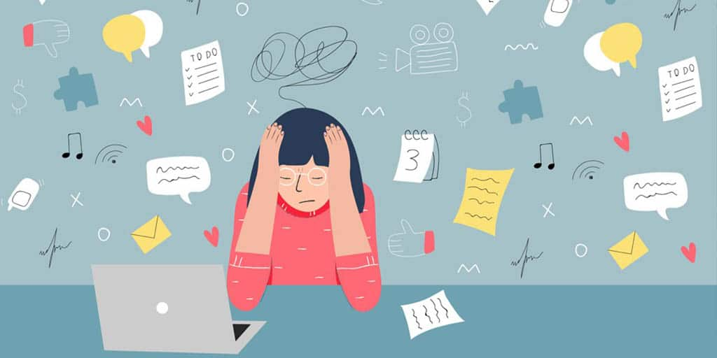 استرس اضطراب نگرانی